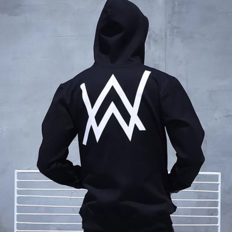 Winter Fleece Sweatshirt Alan Walker Faded Hoodie Men Sign Printing Hip Hop Rock Star Sweatshirt Fleece Band Hoodies Men