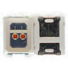 400PCS 2835 0.7W  2V-2.6V YELLOW Turn signal lamp beads
