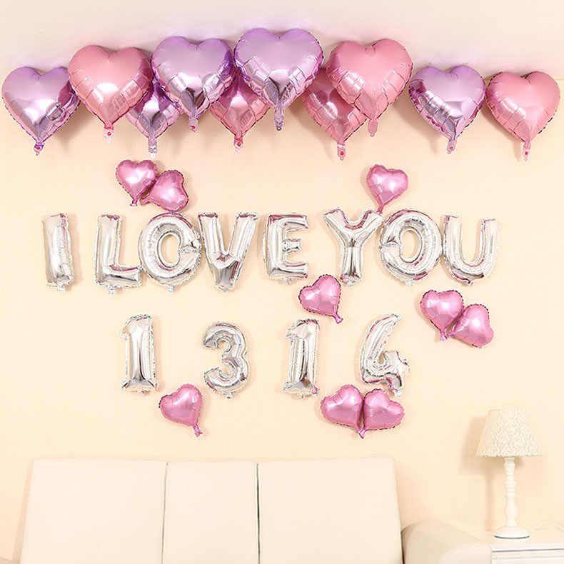 40 polegada número da folha balão ouro/prata/rosa/azul digital diy aniversário festa de casamento decoração do chuveiro do bebê suprimentos