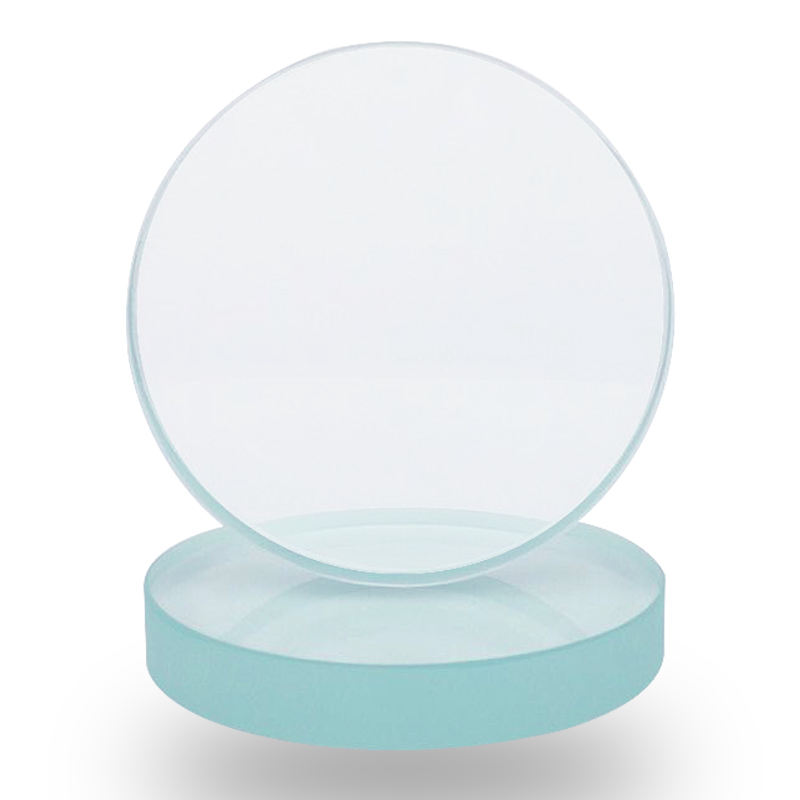 High Temperature Resistant Round Glass Toughened Borosilicate Sight Glass Boiler Fire Pipe Flange Observation Sight Glass 95-110