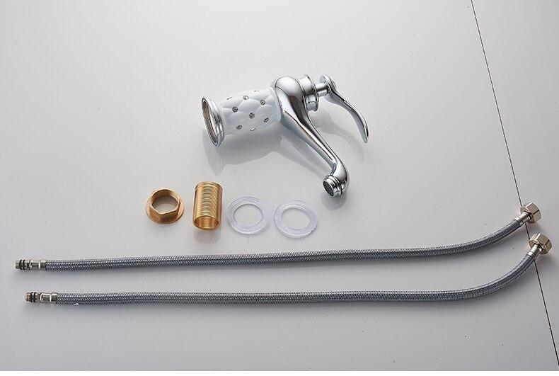 H988243a29a07405090b2cde0560440faY MOLI Bathroom Sink Faucet Gold Basin Single handle Faucets Diamond Water Mixer Crane Hot Cold Chrome Bath Brass Mixer Tap ML201