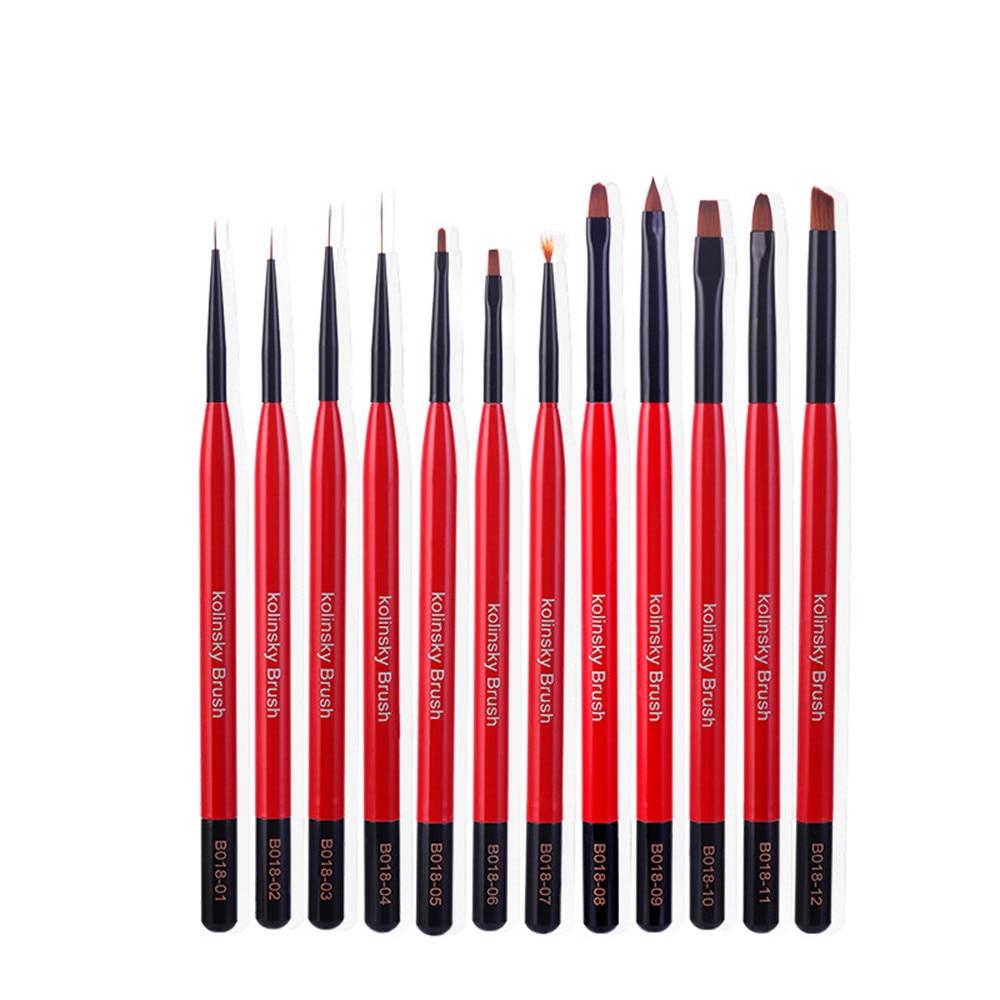 arte do prego pintura acrilica desenho forro pinceis pontilhar caneta manicure ferramenta da arte do prego
