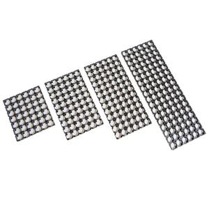 Soporte de 6 filas serie 18650, soporte de batería (integrado) 18650 para paquete de baterías de litio, materiales ignífugos