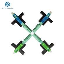 Connecteur optique monomode SC APC UPC 58mm SM, outil FTTH connecteur à froid, connecteur rapide pour Fiber