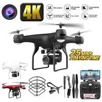 Drone 4k 1080P RC Quadcopter drone with HD 1080P 4K Wifi camera video highly stable Rc helicopter F68 4K RC Camera drones