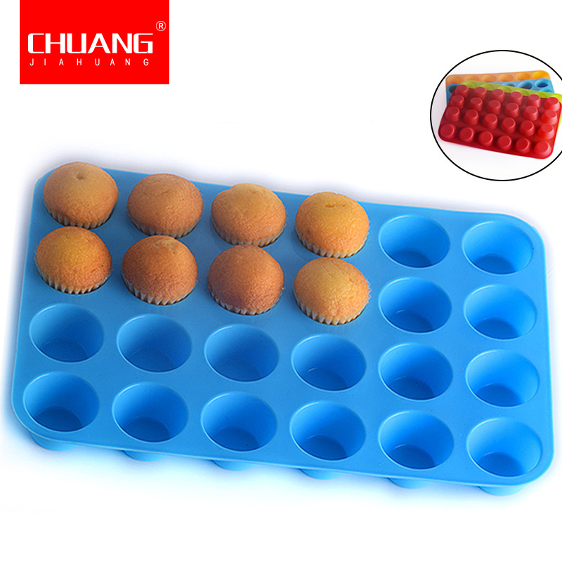 6-Cavity Silicone Mold Half Circle Sphere Baking Pan Mould Cake Muffin Bakeware