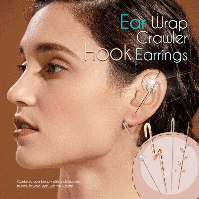 Ear Wrap Crawler Hook Earrings 1
