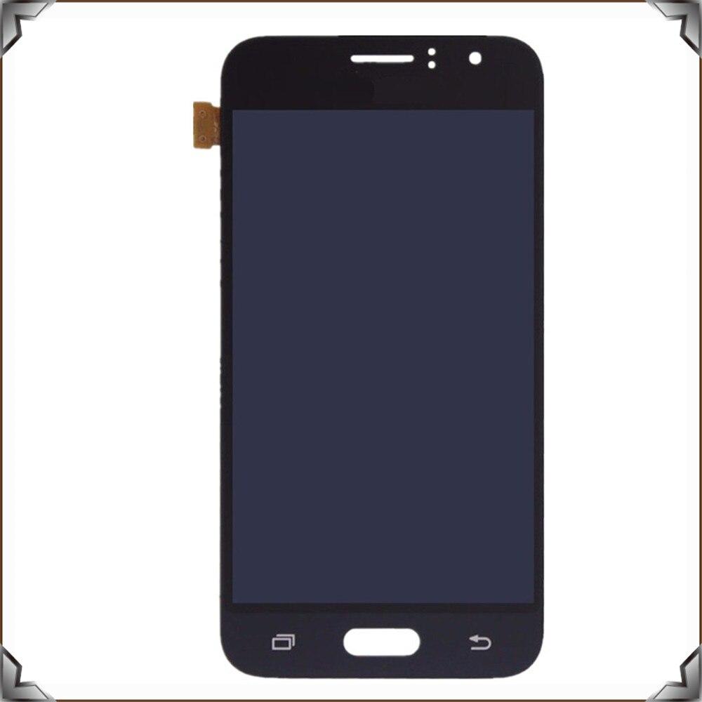 Pièces de réparation de téléphone portable d'oem d'affichage numérique d'écran tactile d'affichage à cristaux liquides pour la galaxie j1 2016 j120f j120h de Samsung