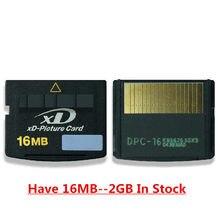 Xd cartão de memória 2gb 1gb xd cartão de imagem 16mb 128mb 256mb 512mb xd cartão para câmera antiga