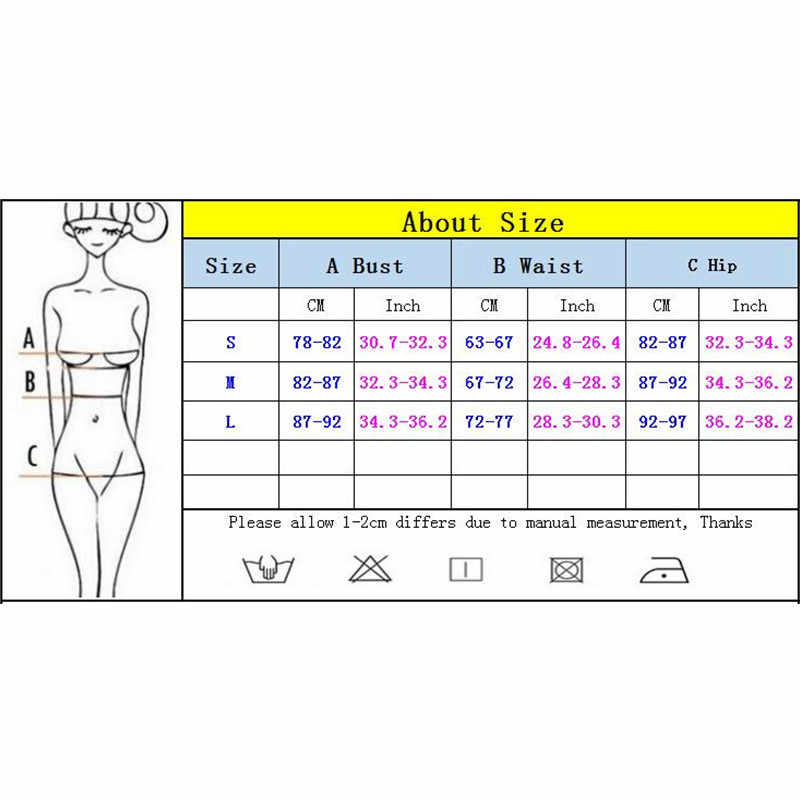 High Waist Bikini 2019 Sexy Women Swimsuit Swimwear Female Brazilian Push Up Bikini set Bandeau Biquini Bathing Suit Women