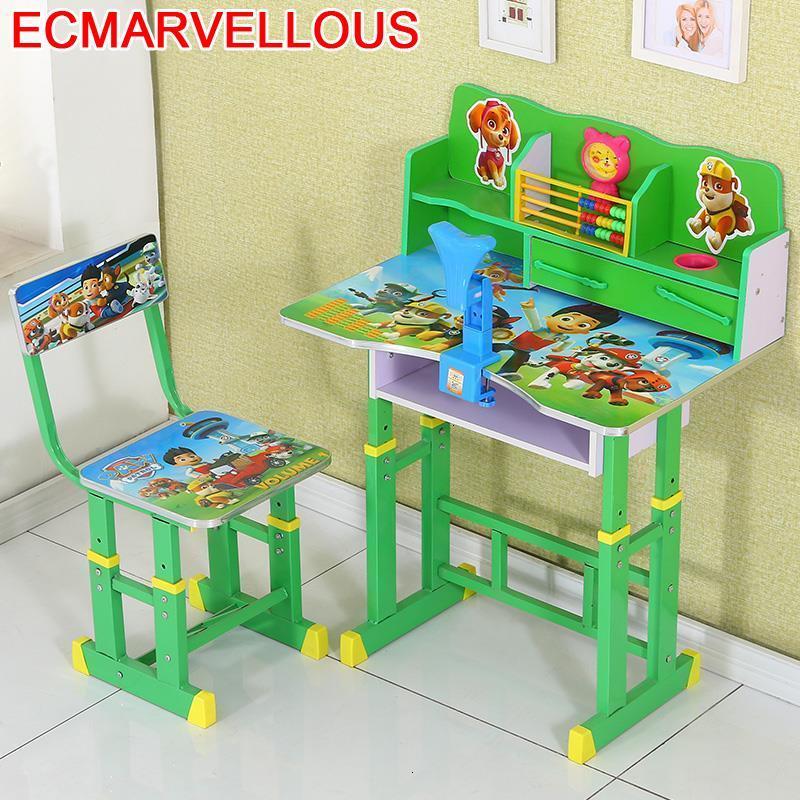 Stolik Dla Dzieci Child Avec Chaise Scrivania Bambini Desk For Toddler Adjustable Enfant Mesa Infantil Kinder Kids Study Table