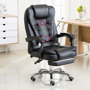 Image 3 - Computer Chair Household Office Chair Rotary Chair Boss Chair Modern Simple Backrest Comfortable Lazy Chair