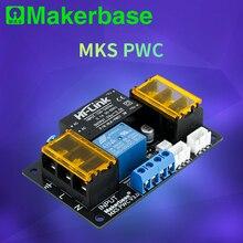 Makerbase MKS PWC 전력 모니터링 자동 전원 꺼짐 계속 재생 모듈 자동으로 꺼짐 전원 감지 3D 프린터 부품