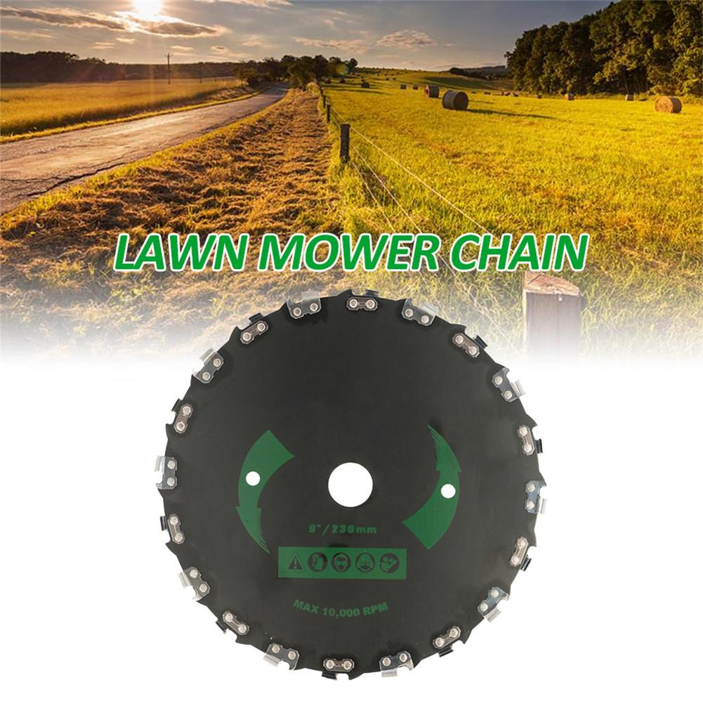 Brushcutter Blade Woodworking Chain Disc Angle Grinding Chain Cutting Disc Accessories