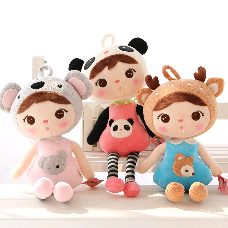 50cm Soft Baby Plush Toys Lovely Stuffed Animals Metoo Doll Cartoon Panda Dolls Brinquedos For Baby Birthday Christmas Gifts