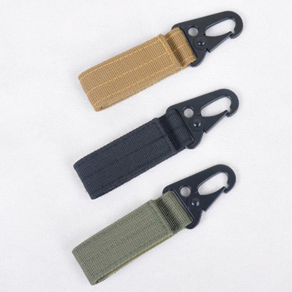 Multifunctional Braided Keychain Hang Buckle Mountaineering Hook Outdoor Portable Mountaineering Keychain