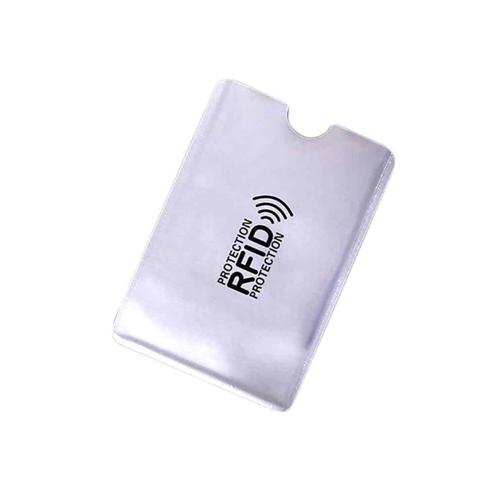 11.11 lowest price Hot 10Pcs Portable Anti-Scan Credit RFID Card Protective Anti-Magnetic Holder Bag
