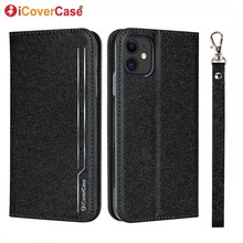 iCoverCase Wallet Cover for iPhone 11 Pro Max SE 2020 5 5s SE 6 6s 7 8 plus X XR XS Case Coque Flip Luxury Leather Phone Cases leather cases for apple iphone 5s 5 se 7 8 6 6s plus etui phone case flip cover for iphone x xr xs max xsmax wallet case funda