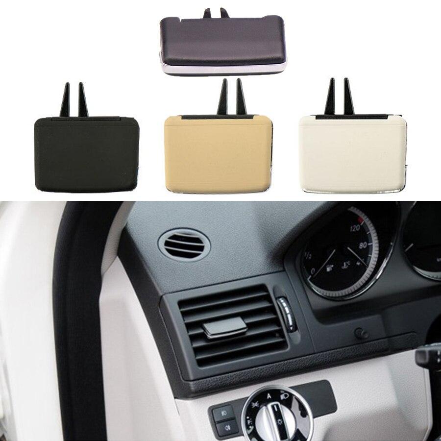 A/C Air Vent Outlet Tab Clip Car Front Rear Air Conditioner Vent Repair Kit for Mercedes-Benz W204 C180 C200 C260 GLK300 GLK260