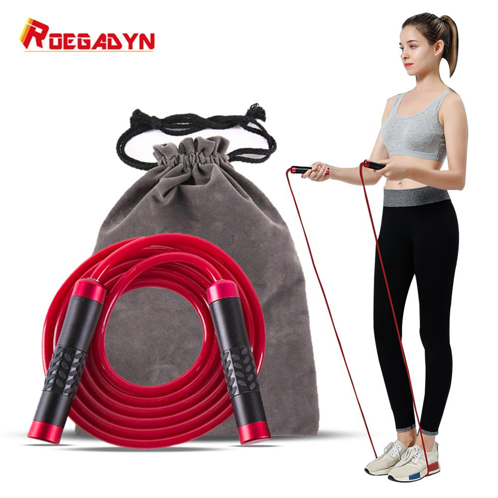 Leather Jump Rope Skip Skipping Jumping Ropes for Women /& Men with adjustable Wo