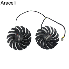 2 قطعة/الوحدة PLD10010S12HH RX5700 RX5600 برودة مروحة ل MSI Radeon RX 5600 5700 XT الألعاب بطاقة الفيديو مروحة التبريد