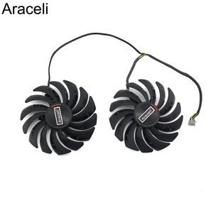 Image 1 - 2PCS/lot PLD10010S12HH RX5700 RX5600 Cooler Fan for MSI  Radeon RX 5600 5700 XT GAMING Video Card Cooling Fan