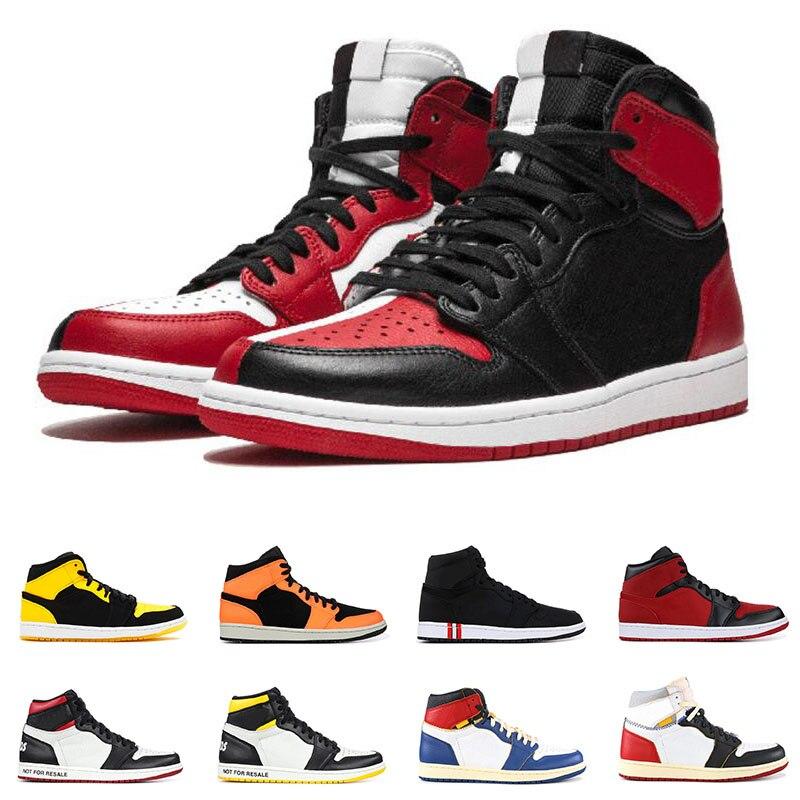 2019 1 1s mi basket chaussures pour hommes maison hommage nouvel amour recrue de l'année south beach concepteur hommes sport baskets 6.5-11