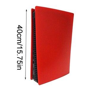 Image 4 - 3 צבע עור פגז מקרה כיסוי החלפת צלחת עבור PS5 משחק קונסולת משחקים נגד שריטות Dustproof אביזרי משלוח מהיר