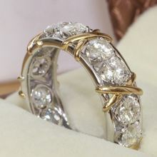 Новые модные женские креативные кольца x образной формы с перекрестными