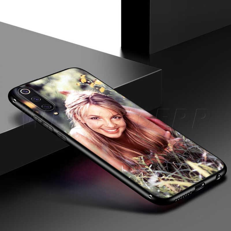 Webbedepp Britney Spears Case for Samsung Galaxy S7 S8 S9 S10 Plus Edge Note 10 8 9 A10 A20 A30 A40 A50 A60 A70