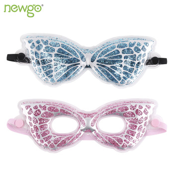 Gel Eye Mask Cooling Eye Mask for Relaxing Spa Gel Ice Eye Mask with 2 Pack for Headache Dry Eyes Dark Circles Stress Relief