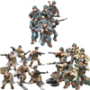 ww2 Battle of Rhineland Moscow army mega block action figures world war penetrate into enemys rear weapon gun building brick toy