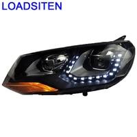 Assessoires Luces Neblineros Para Auto Drl Daytime Running Lights Styling Led Car Lighting Headlights FOR Volkswagen Toureg