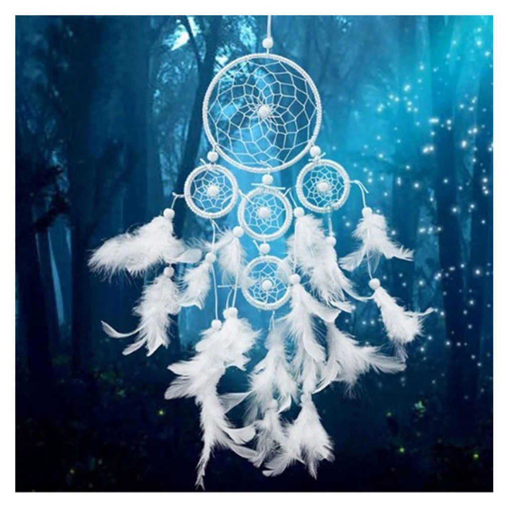 New 5D Full Diamond Painting Dream Catcher Embroidery Cross Stitch Kit Room Decor Rhinestone  DIY Craft