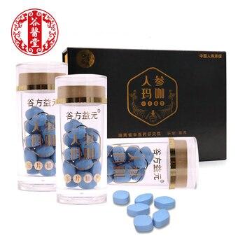 3 botellas de Ginseng comprimidos pastillas de Maca Candy Maca negra de...