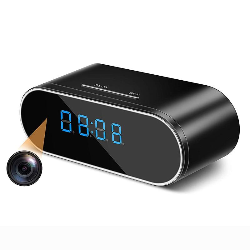 Wireless WIFI Camera Clock 1080P Z10 Mini Camera Time Alarm Watch P2P IP/AP Security Night Vision Motion Sensor Remote Monitor