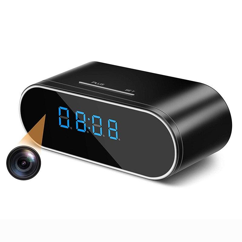 Z10 Wireless WIFI Camera Clock 1080P Wi-fi Mini Camera Time Alarm Watch P2P IP/AP Security Night Vision Motion Sensor Remote