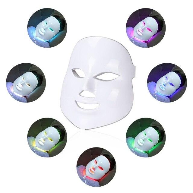 Tratamiento de máscara facial con fotones para belleza 2