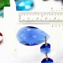 Garland Suncatcher-Pendants Crystal Glass Hanging-Drops Christmas-Tree Diy for 40pcs/Lot