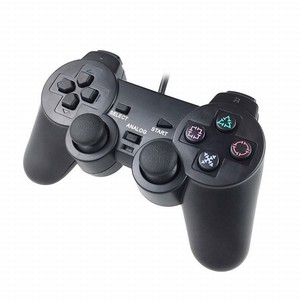 1pc Gamepad Wired Game Controller For PlayStation 2 Black Transparent Purple Blue Red Wired Replacement Controller For PS2