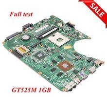 NOKOTION для ноутбука Toshiba Satellite L755 L750 Материнская плата ноутбука A000081620 DABLDDMB8D0 HM65 DDR3 GT525M 1 Гб