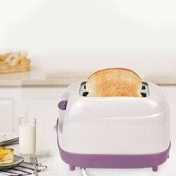 Hot 2 plastry toster automatyczne szybkie ogrzewanie toster do chleba urządzenie do robienia śniadania domowego ue wtyczka