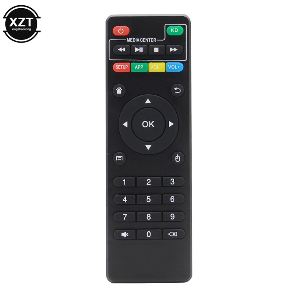 Controle remoto universal para x96 x96mini x96w android caixa de tv ir controlador para x96 mini x96 x96w conjunto caixa superior com função kd
