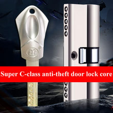 European Standard Universal Stainless steel C-class lock core Cylinder Security Door Gate lock cylinder With 10pcs Keys