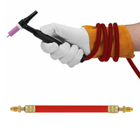 25ft Welding Power Cable TIG Air cooled Accessory For 9 17 Series Torches Power Cable Accessories|Gas Welding Equipment|   -