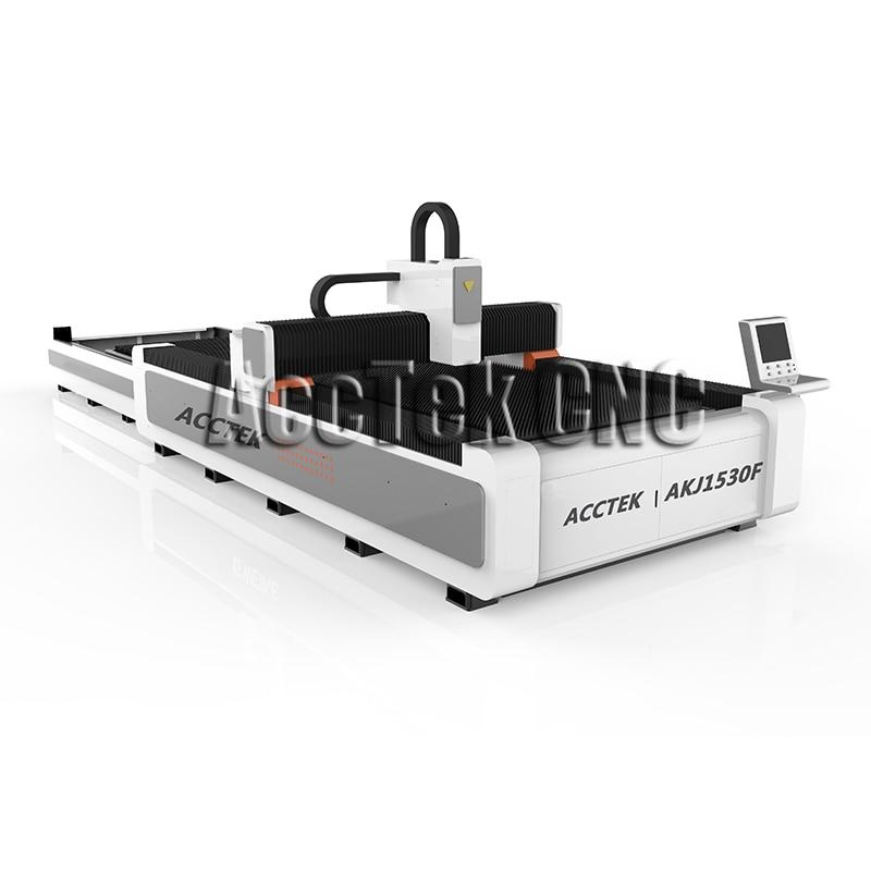 New Design Fiber 1000w Laser Cutting Machine For 10mm Carbon Steel 1530 Laser Cut