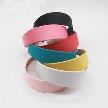 Plastic Headbands Hair-Hoops Fabric Satin Girls Women 10PCS for INS Hot Covered