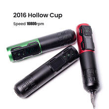 Professional Wireless Tattoo Pen Machine Battery with Portable Power Brushless Motor Digital LED Display For Body Art