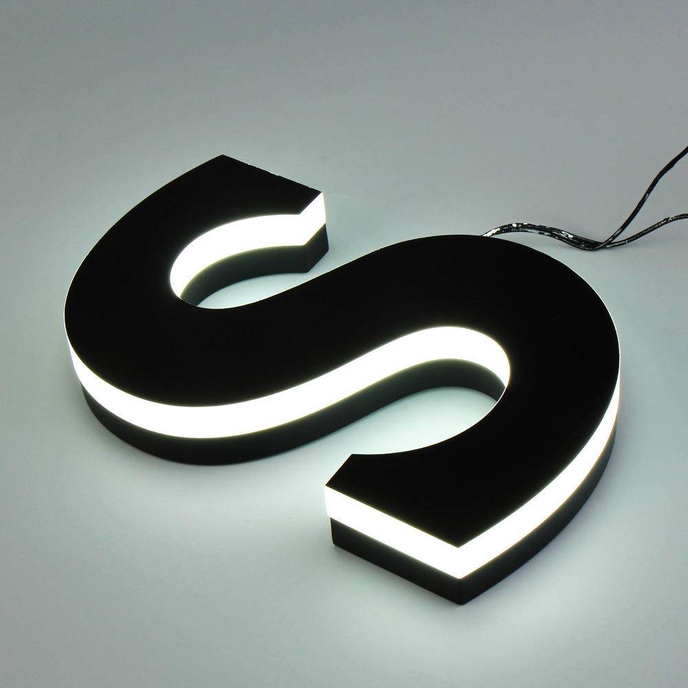 New Design Acrylic Led Letter Exquisite Acrylic Cut Letters With High Quality Painted For Various Design Customization