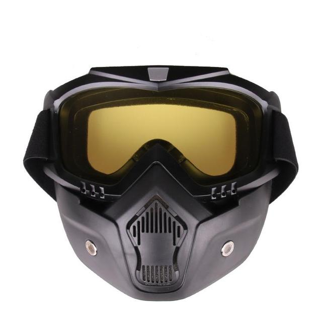 HiMISS Practical Motorcycle Tactical Glasses Mask Wind Dust Proof Outdoor Sports Equipment 4